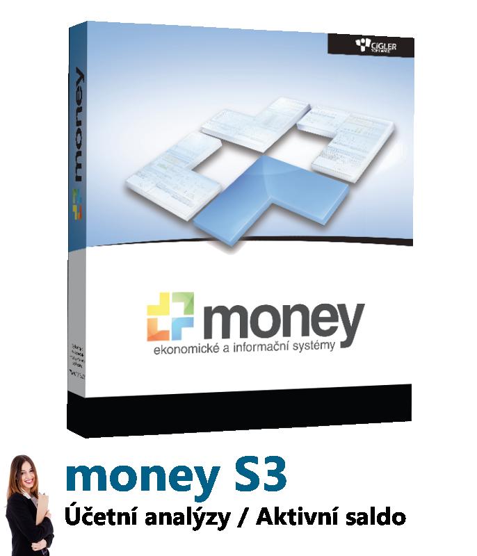 Money S3 - Účetní analýzy / Aktivní saldo