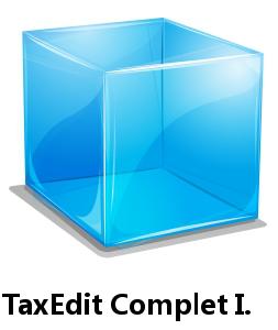 TaxEdit Complet I. pro registrované uživatele
