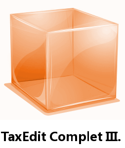 TaxEdit Complet III. pro registrované uživatele